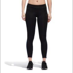 Adidas Response long tights black on black medium